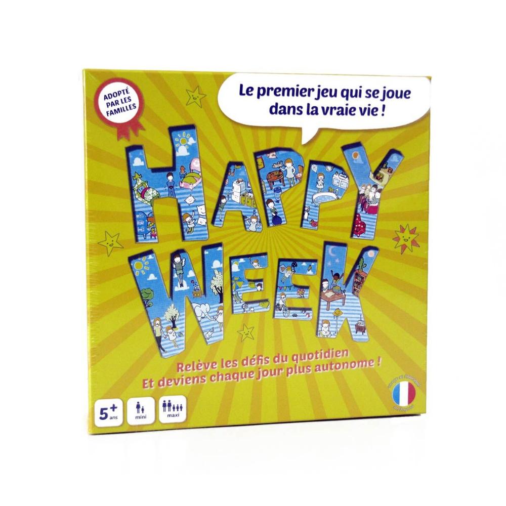 Jeu De Société Happy Week Happy Week | Jeux De Société, Jeux pour Jeux Pour Enfant De 11 Ans