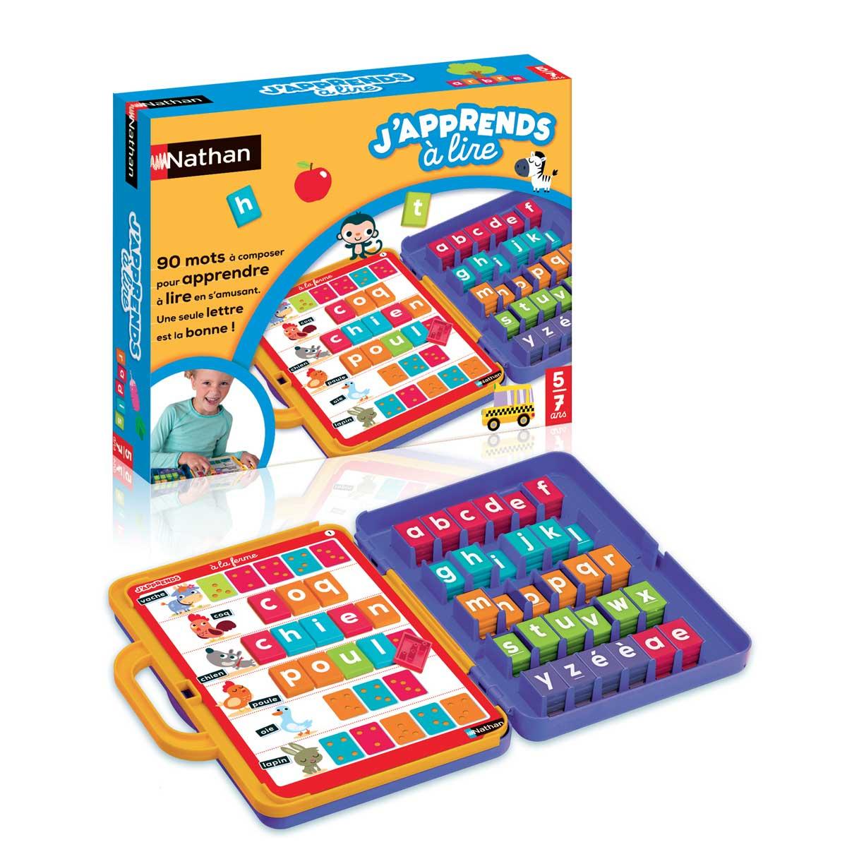 Jeu De Société J'apprends À Lire avec Jeux Pour Apprendre À Lire 4 Ans