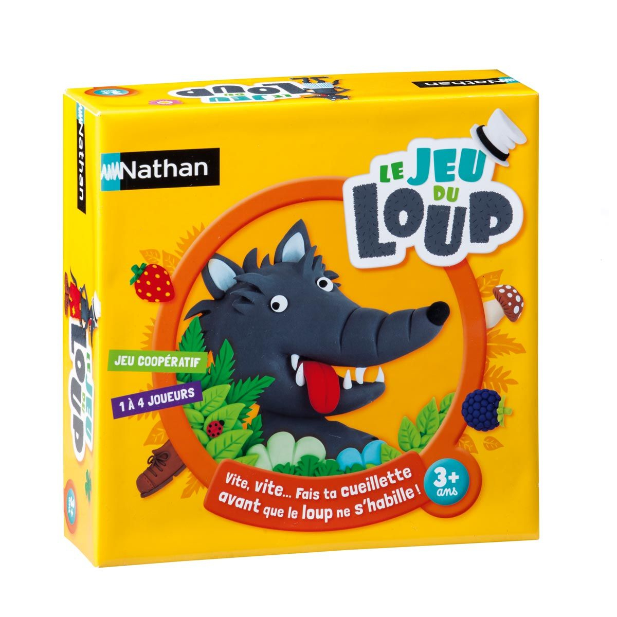 Jeu De Société Le Jeu Du Loup Nathan | Jeu Du Loup, Jeux De destiné Jeux De Société À Partir De 4 Ans