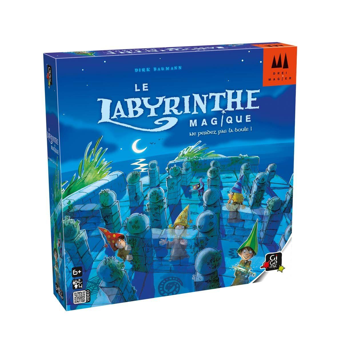 Jeu De Société Le Labyrinthe Magique Gigamic | Jeux De à Jeux Societe Enfant 6 Ans