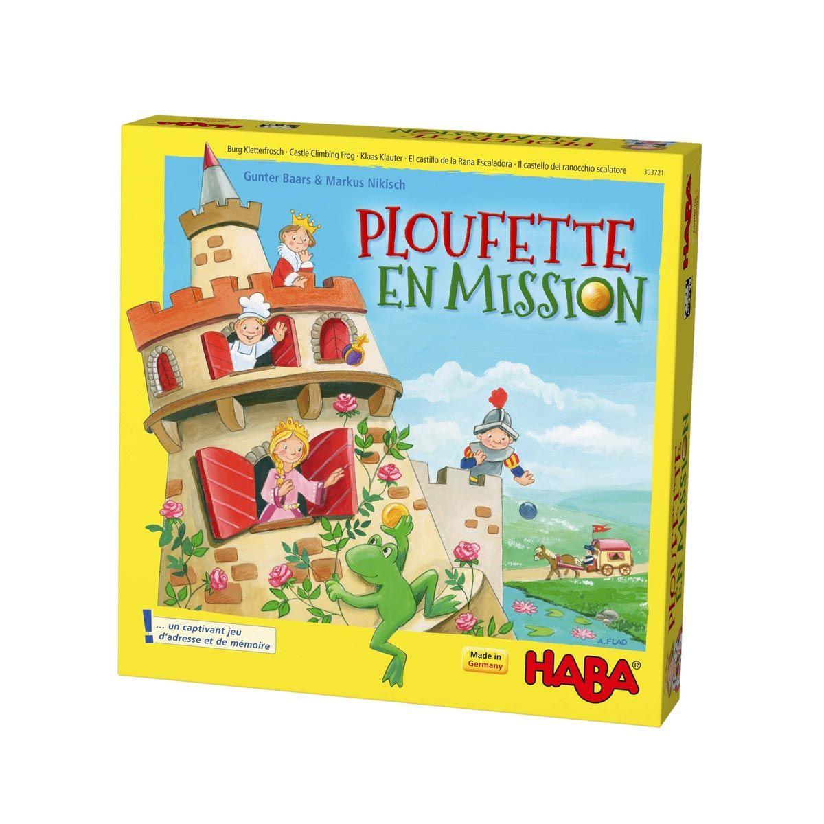 Jeu De Société Ploufette En Mission Haba Pour Enfant De 5 avec Jeux De Societe Enfant 5 Ans