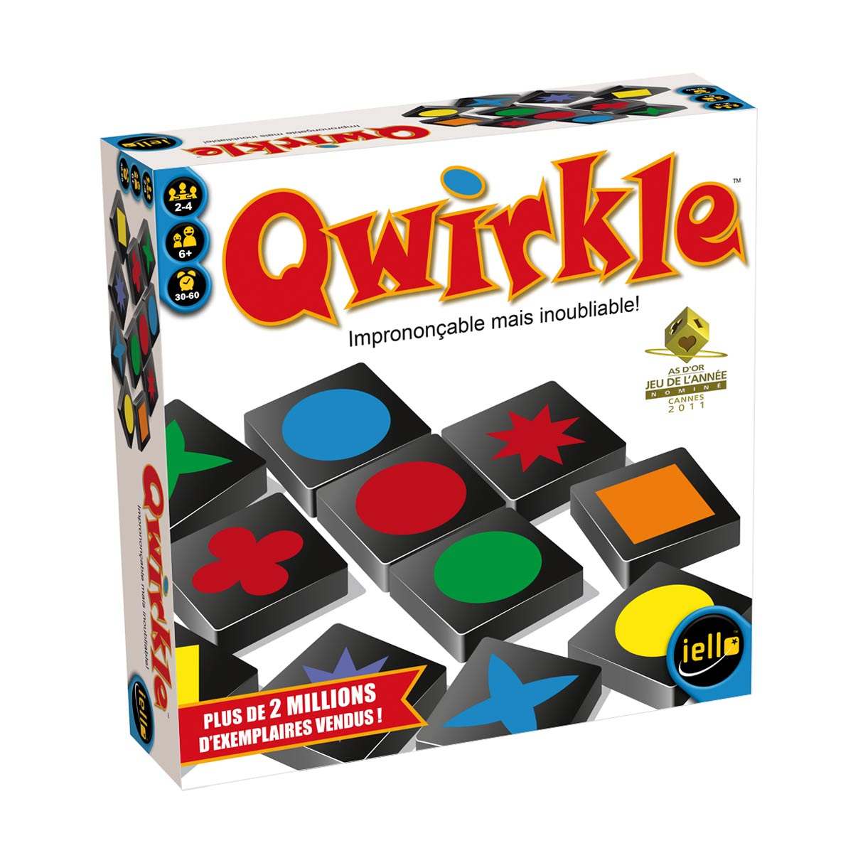 Jeu De Société Qwirkle dedans Jeux Societe Enfant 6 Ans