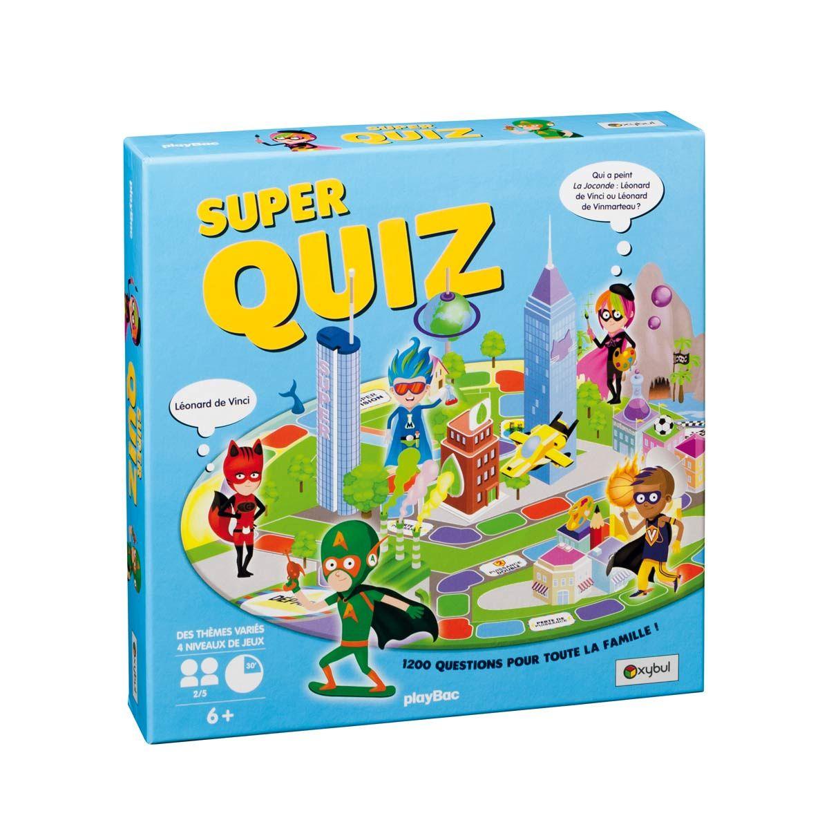 Jeu De Société Superquiz Oxybul | Jeux De Société, Jeux De avec Jeux Societe Enfant 6 Ans