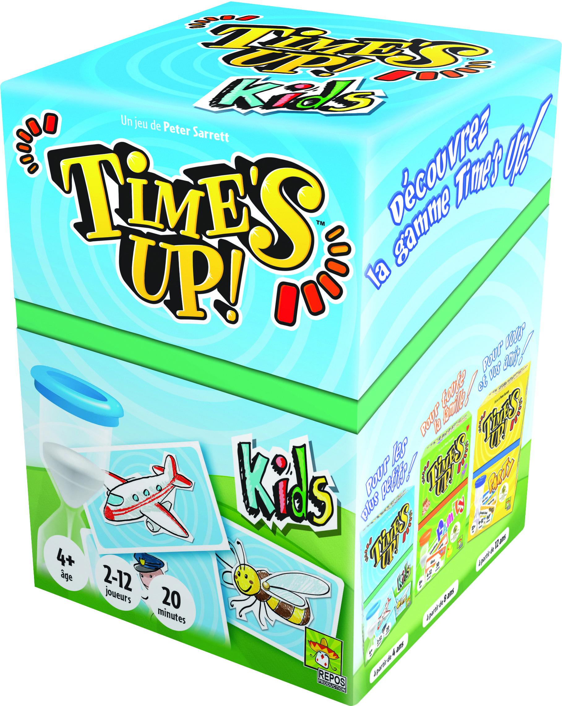 Jeu De Société Time's Up Kids Version Chat Asmodée | Jeux De serapportantà Jeux De Société À Partir De 4 Ans