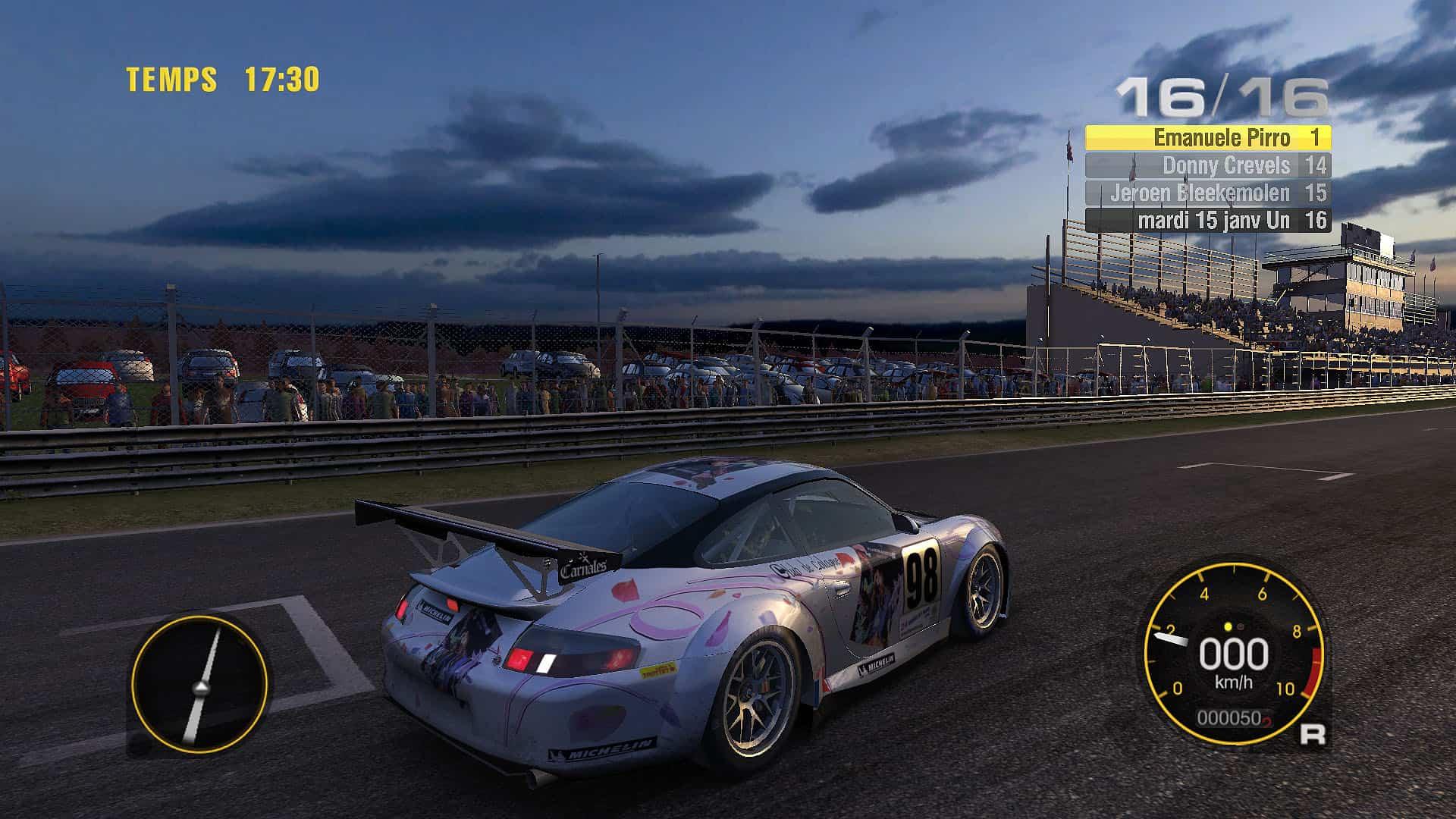 Jeu De Voiture De Course Sur Circuit - Course Automobile destiné Jeux De Voiture En Course