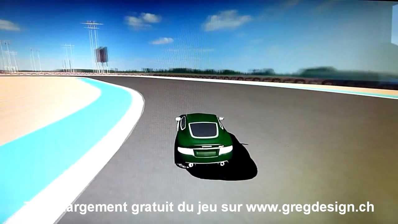 Jeu De Voiture Gratuit Avec Blender 3D Aston Martin Car Circuit Vitesse À  Télécharger Par Gregdesign pour Les Jeux Gratuit De Voiture