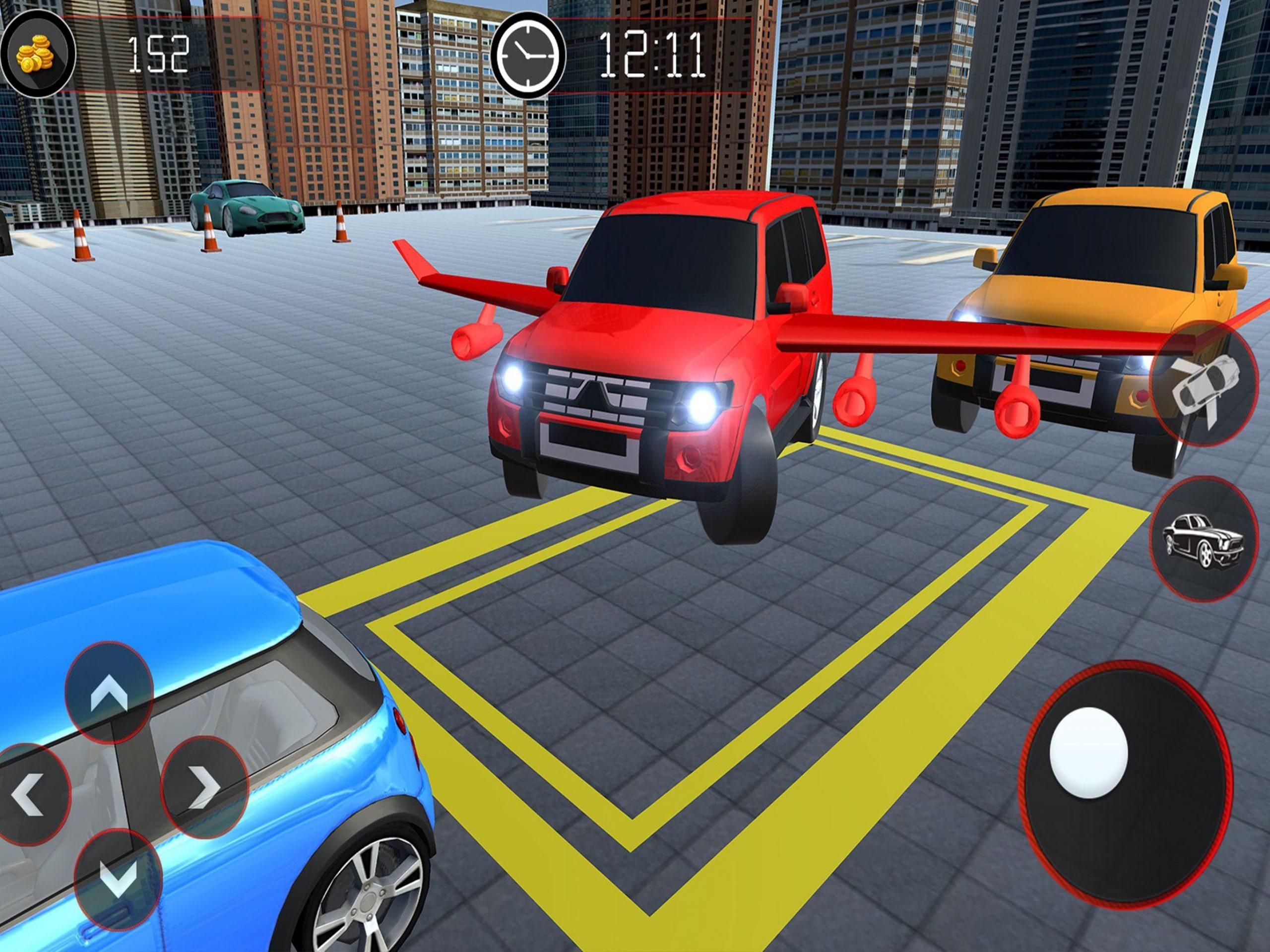Jeu De Voiture Volant - Prado Car Parking Games 3D Pour à Jeux De Voiture Au Volant