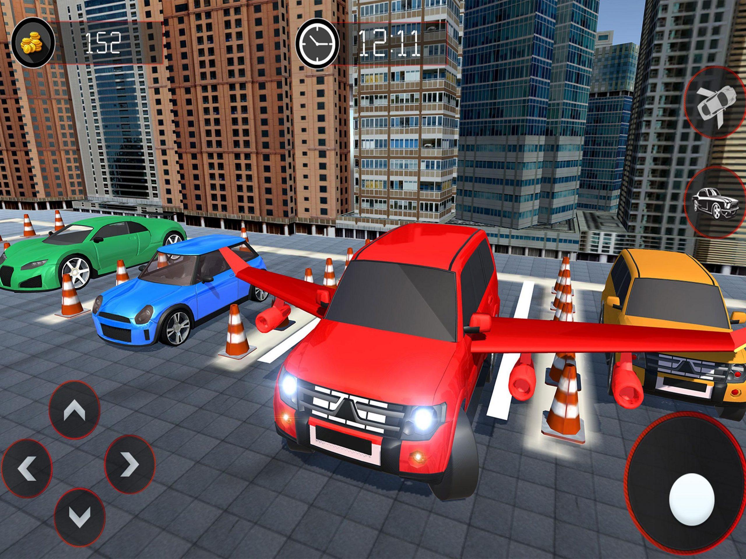 Jeu De Voiture Volant - Prado Car Parking Games 3D Pour dedans Jeux De Voiture Au Volant