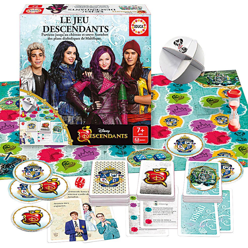 Jeu Descendants tout Jeux De Descendants