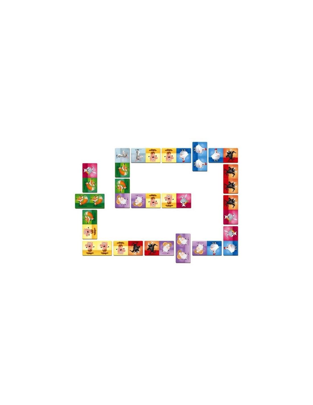 Jeu Dominos Rigolooo - Janod serapportantà Jeux Domino Gratuit En Ligne