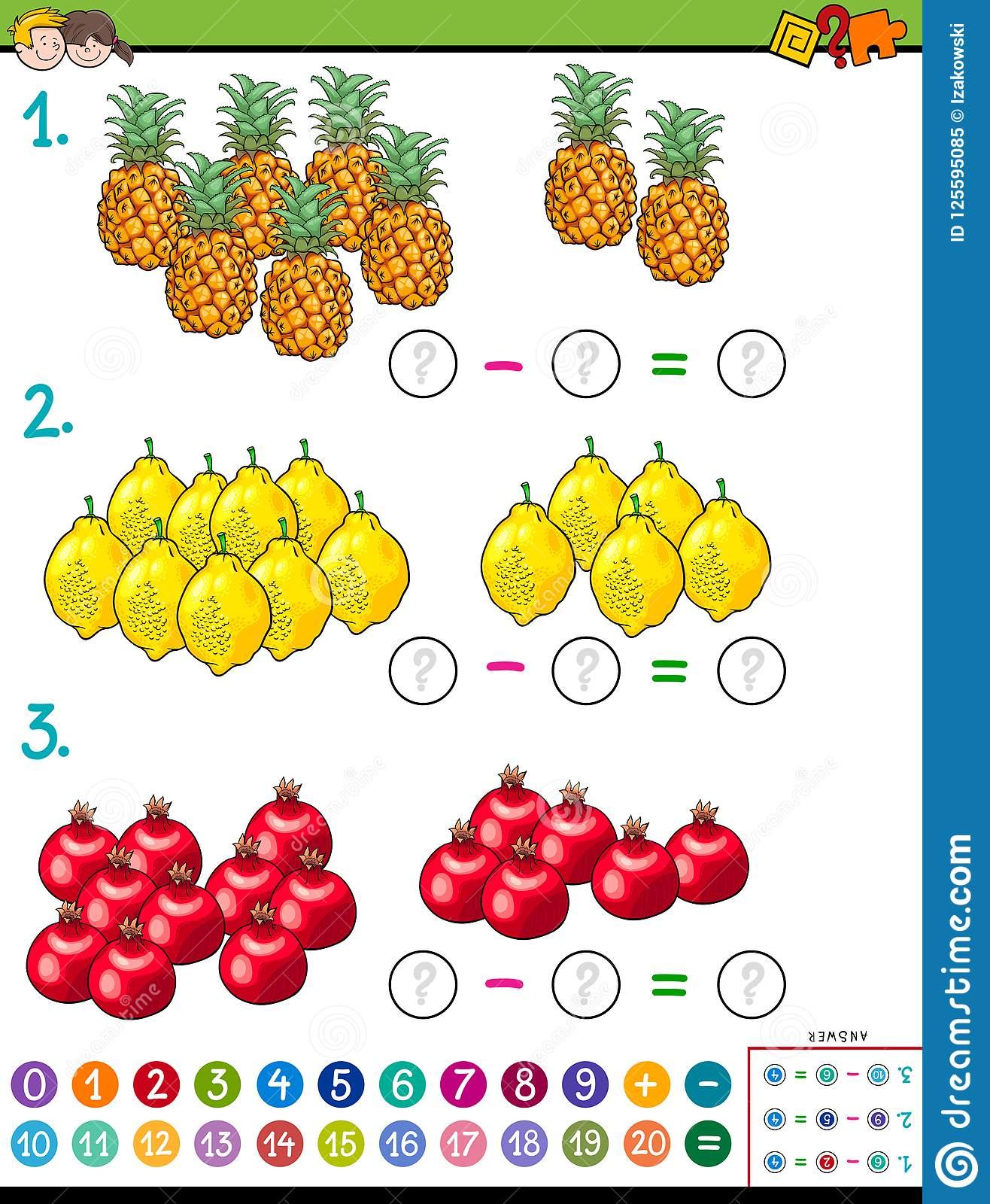 Jeu Éducatif De Calcul De Maths Pour Des Enfants concernant Jeu Calcul Enfant