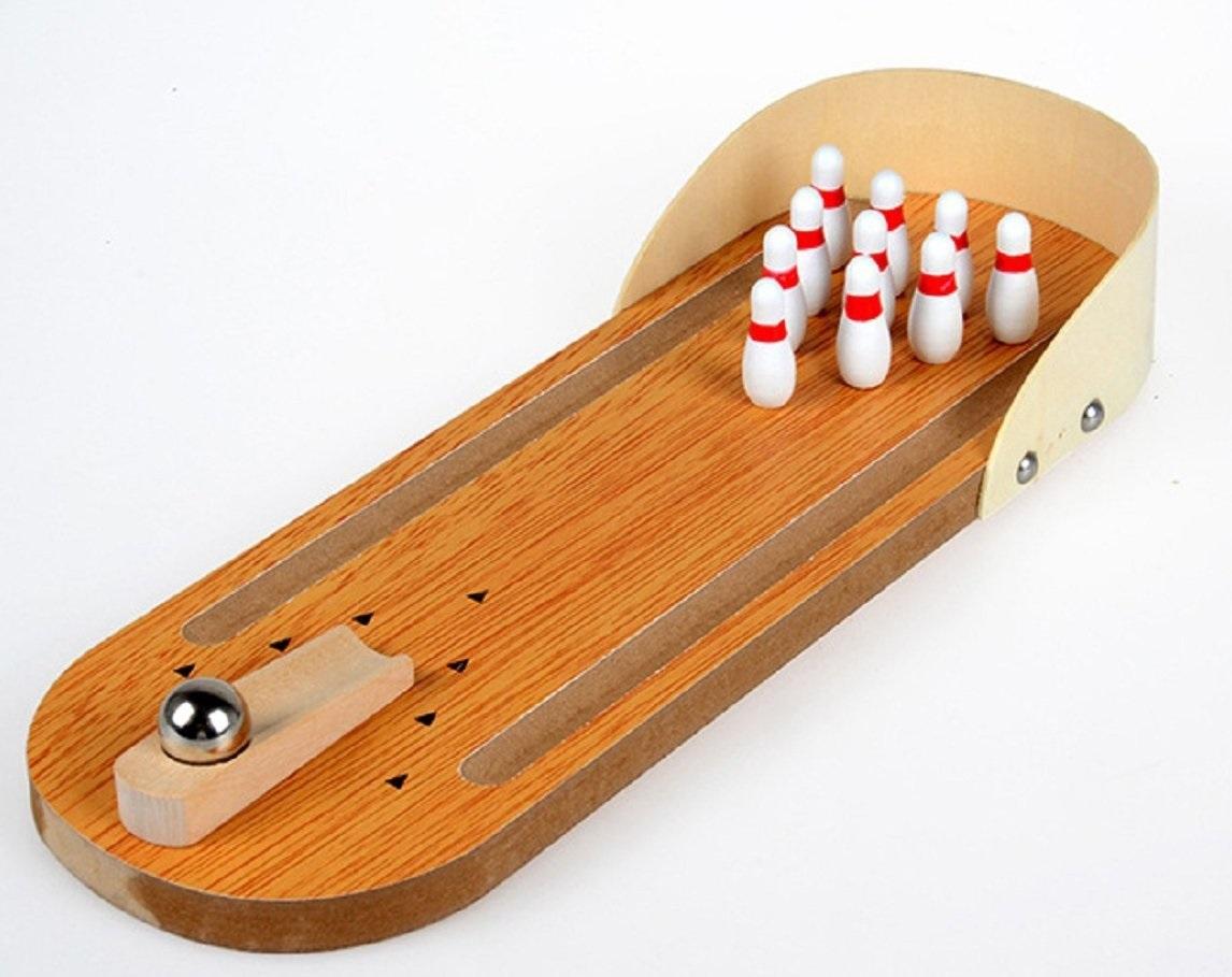 Jeu Éducatif De Mini Jeu De Bowling De Table En Bois D'enfants Pour Des  Enfants Pour L'amusement intérieur Bowling Pour Enfant
