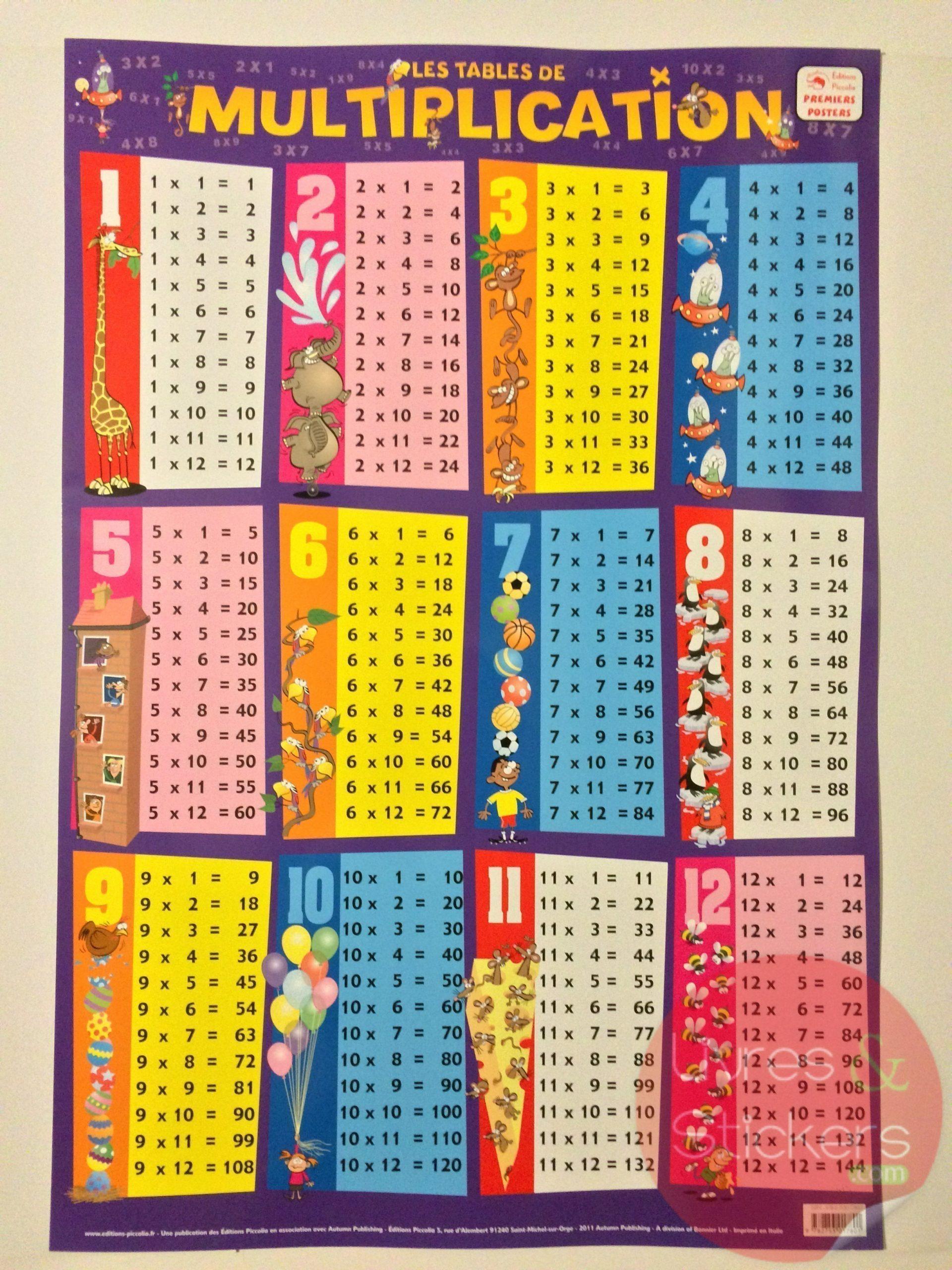 Jeu Éducatif Et Scientifique 3864 Table Daddition Ulysse pour Jeux Educatif Table De Multiplication