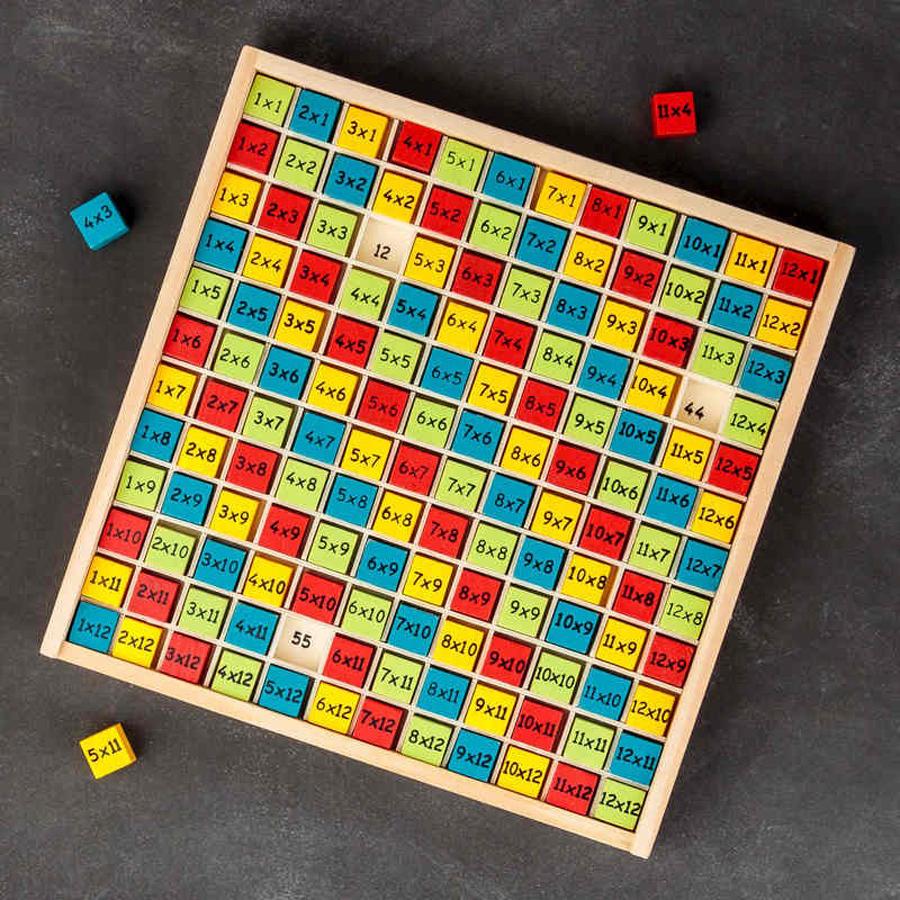 Jeu Educatif - Tables De Multiplications - Art De Se avec Jeux Educatif Table De Multiplication