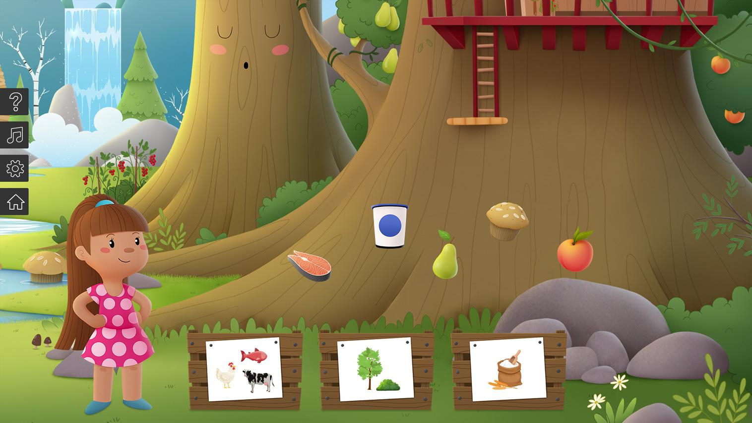 """Jeu Interactif """"la Forêt Marmitonne""""   Éducation Nutrition pour Jeux Interactifs Primaire"""