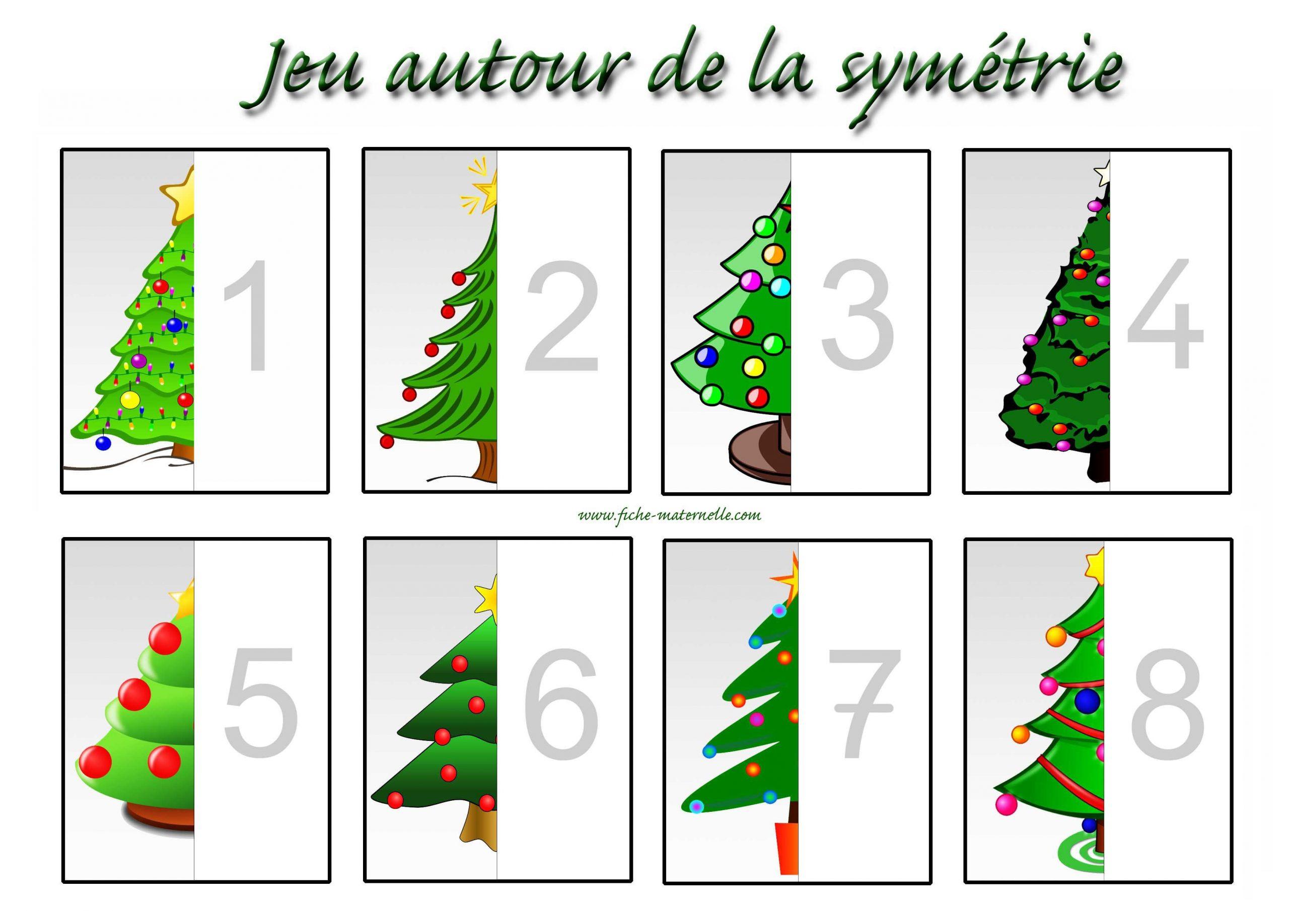 Jeu Mathmatique En Maternelle Beau Clipart Sapin De Noel encequiconcerne Jeu Noel Maternelle