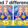 Jeu Pour Des Enfants : Trouvez Les Différences, Peu De serapportantà Jeux Des 7 Difference