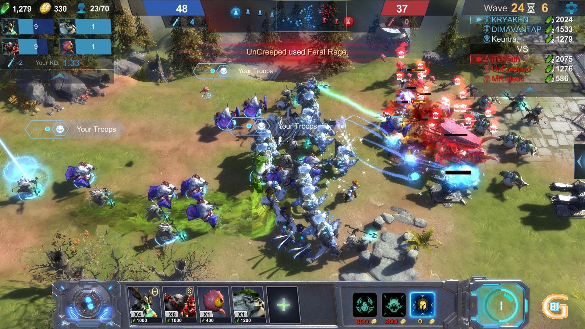 Jeu-Strategie-Gratuit-Art-Of-War-Red-Tides - Bjg - Bons Jeux destiné Jeux Gratuit Sur Ordinateur