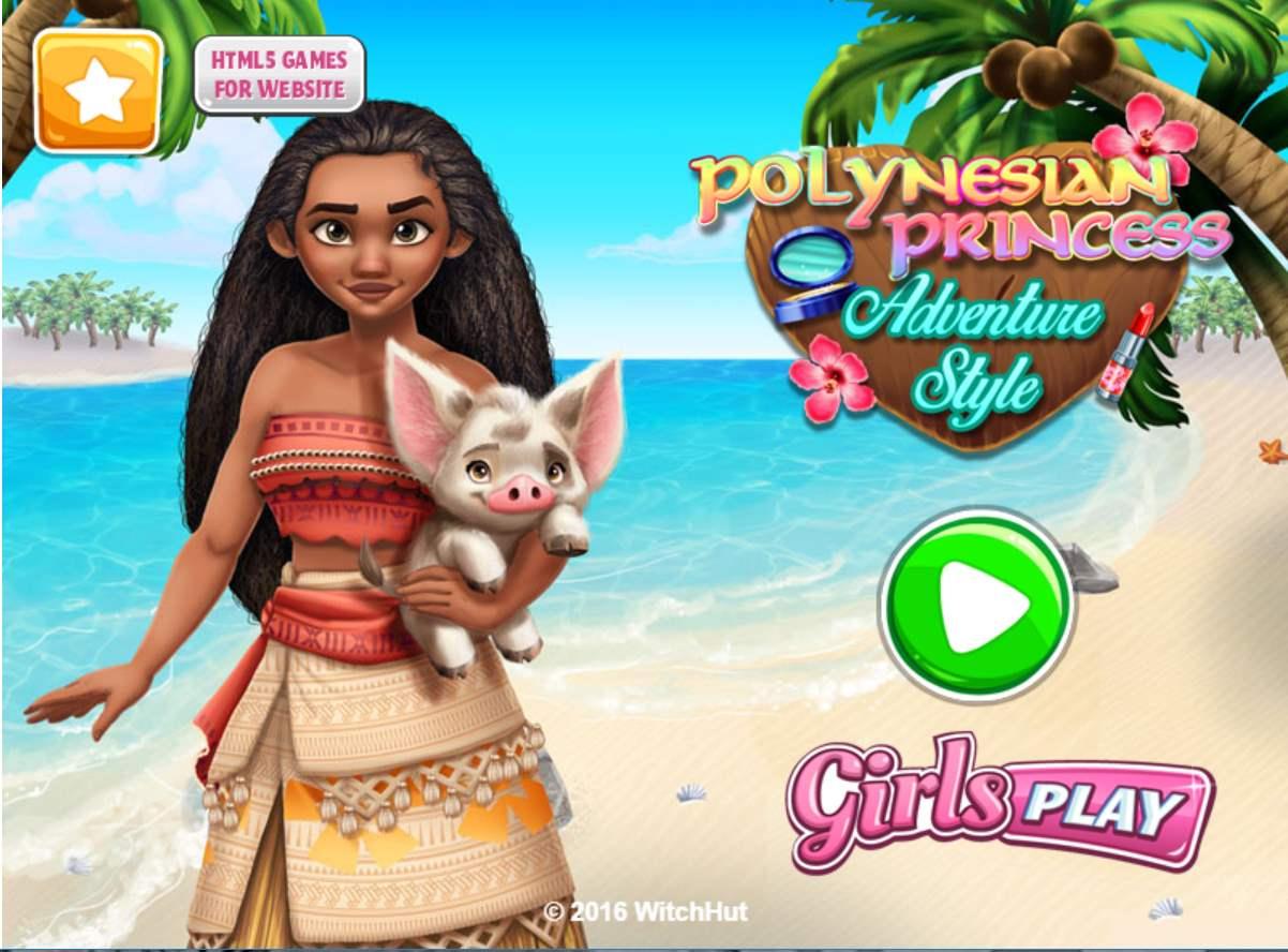 Jeu Sur Aventure Pour Fille En Ligne Avec La Princesse Moana avec Jeux Animaux Pour Fille
