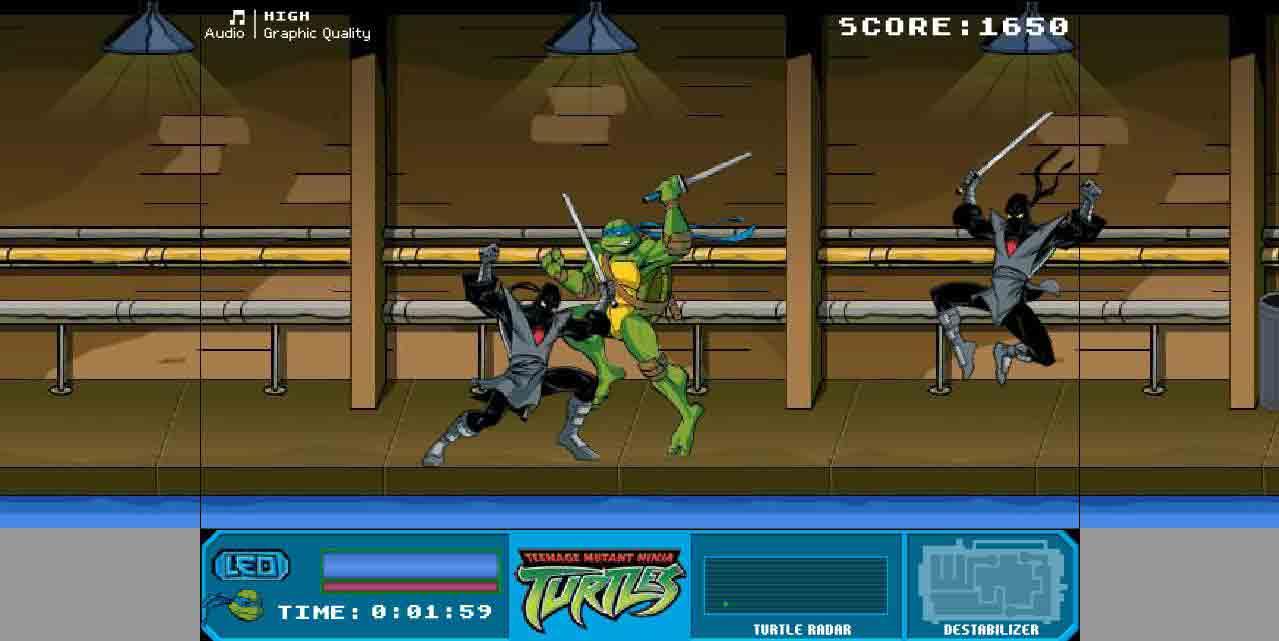 Jeu Tortues Ninja / Jeuxgratuits tout Jeux De Tortue Gratuit