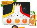 Jeu Visuel Pour Enfants, Cahier De Coloriage. Quelle Est La Couleur Des  Crayons? Définition De La Teinte tout Cahier De Coloriage Enfant