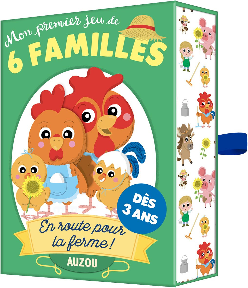 Jeunesse Mon Premier Jeu De 6 Familles En Route Pour La Ferme! |  Cartotheque encequiconcerne Jeu Chasse Taupe