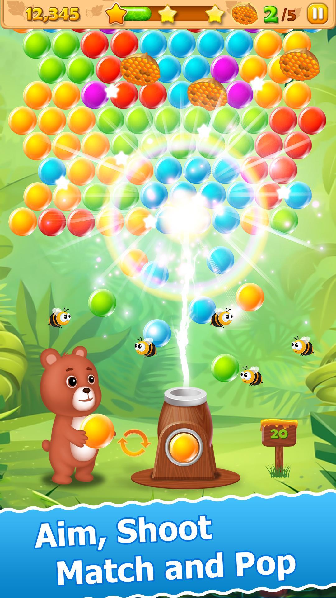 Jeux De Bulles - Bubble Shooter Pour Android - Téléchargez L'apk concernant Jeux Des Bulles
