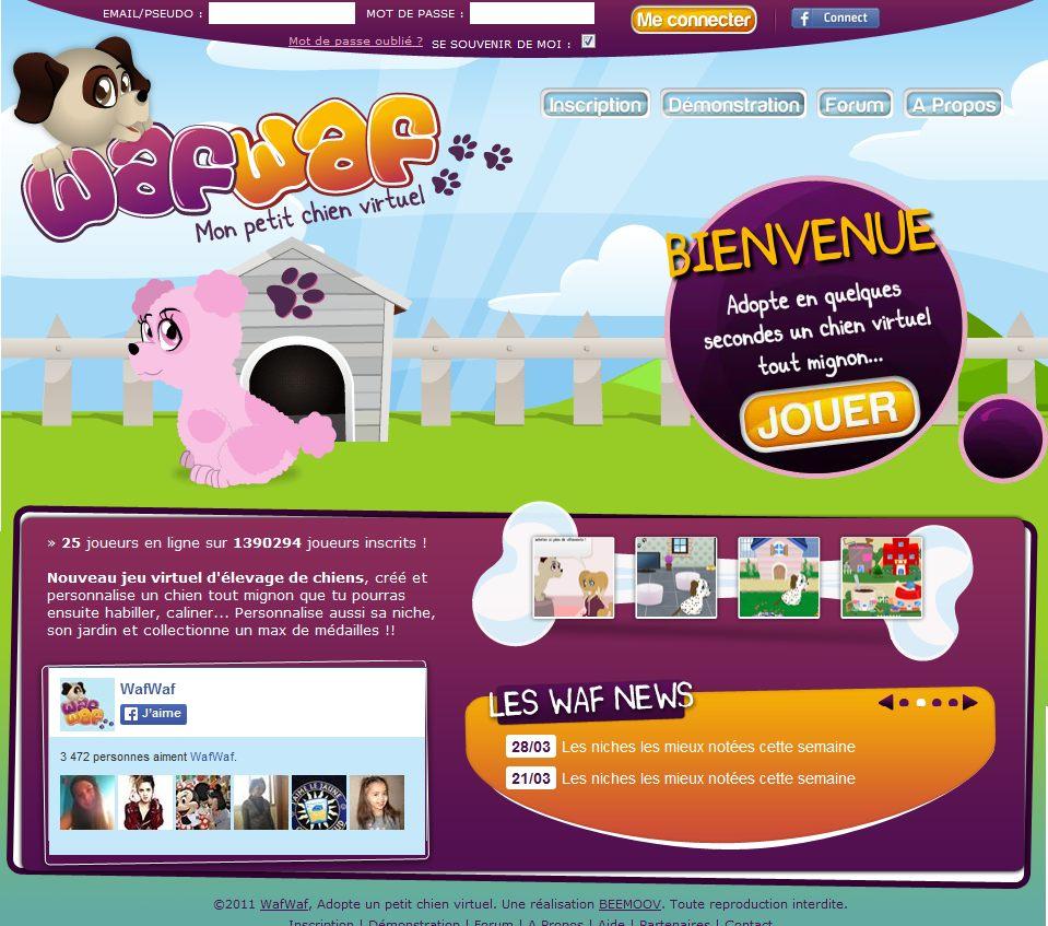 Jeux De Chien Virtuel Et De Chat À Adopter. intérieur Jeux De Fille Gratuit Animaux