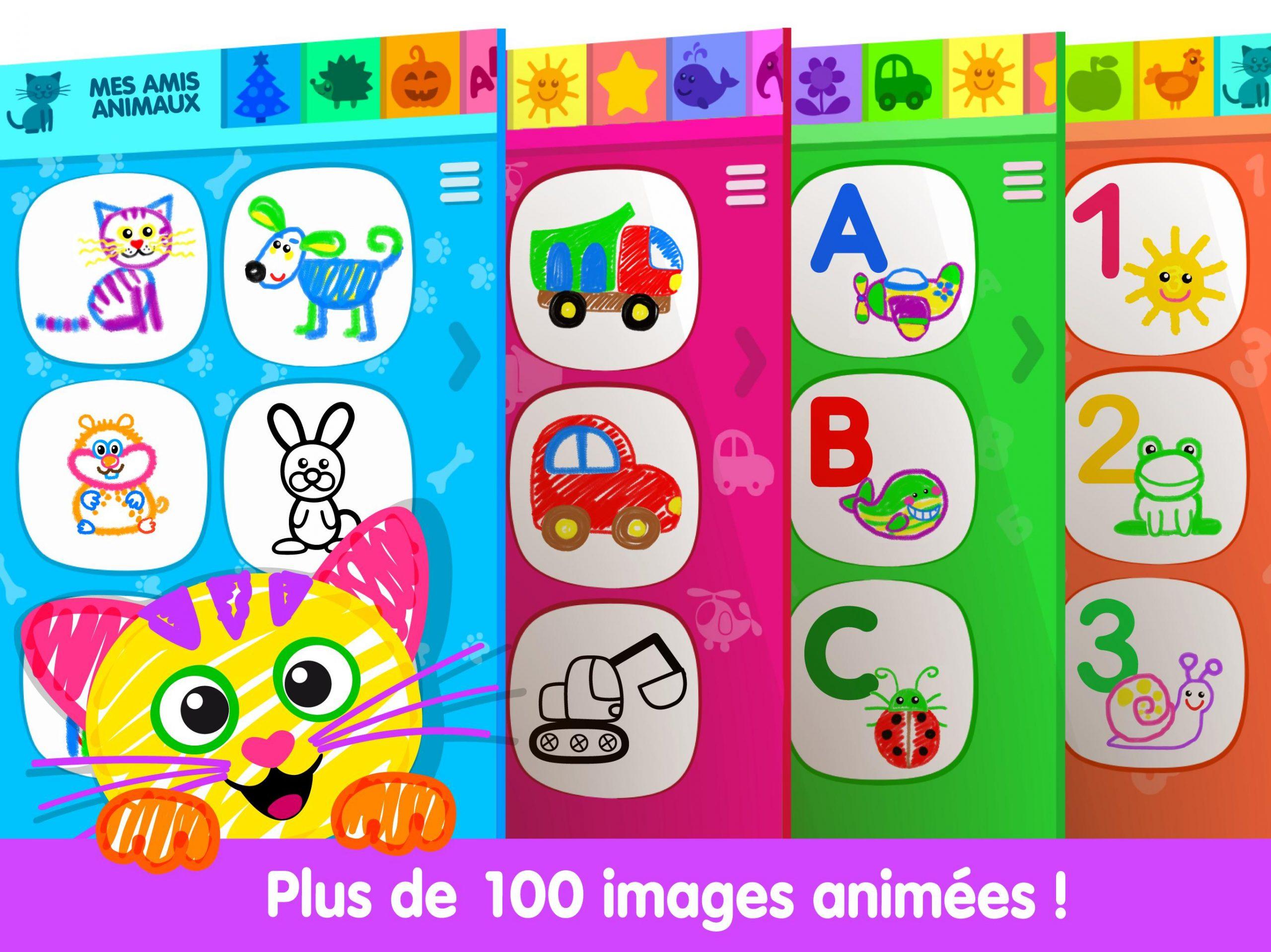 Jeux De Dessin Pour Enfants!😍 Livre Coloriage🎨 Pour tout Cahier De Coloriage Enfant
