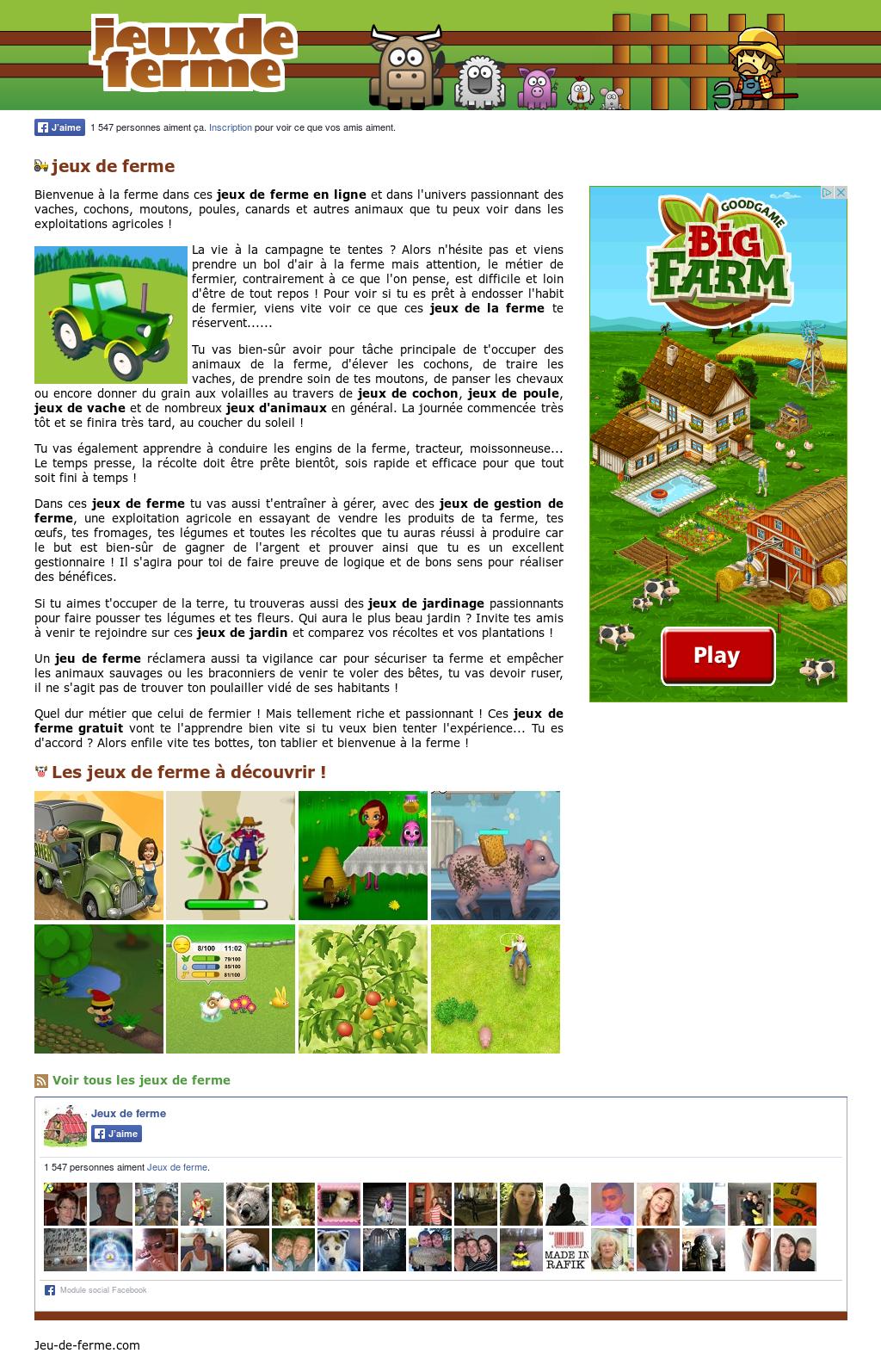 Jeux De Ferme Competitors, Revenue And Employees - Owler à Jeux En Ligne De Ferme