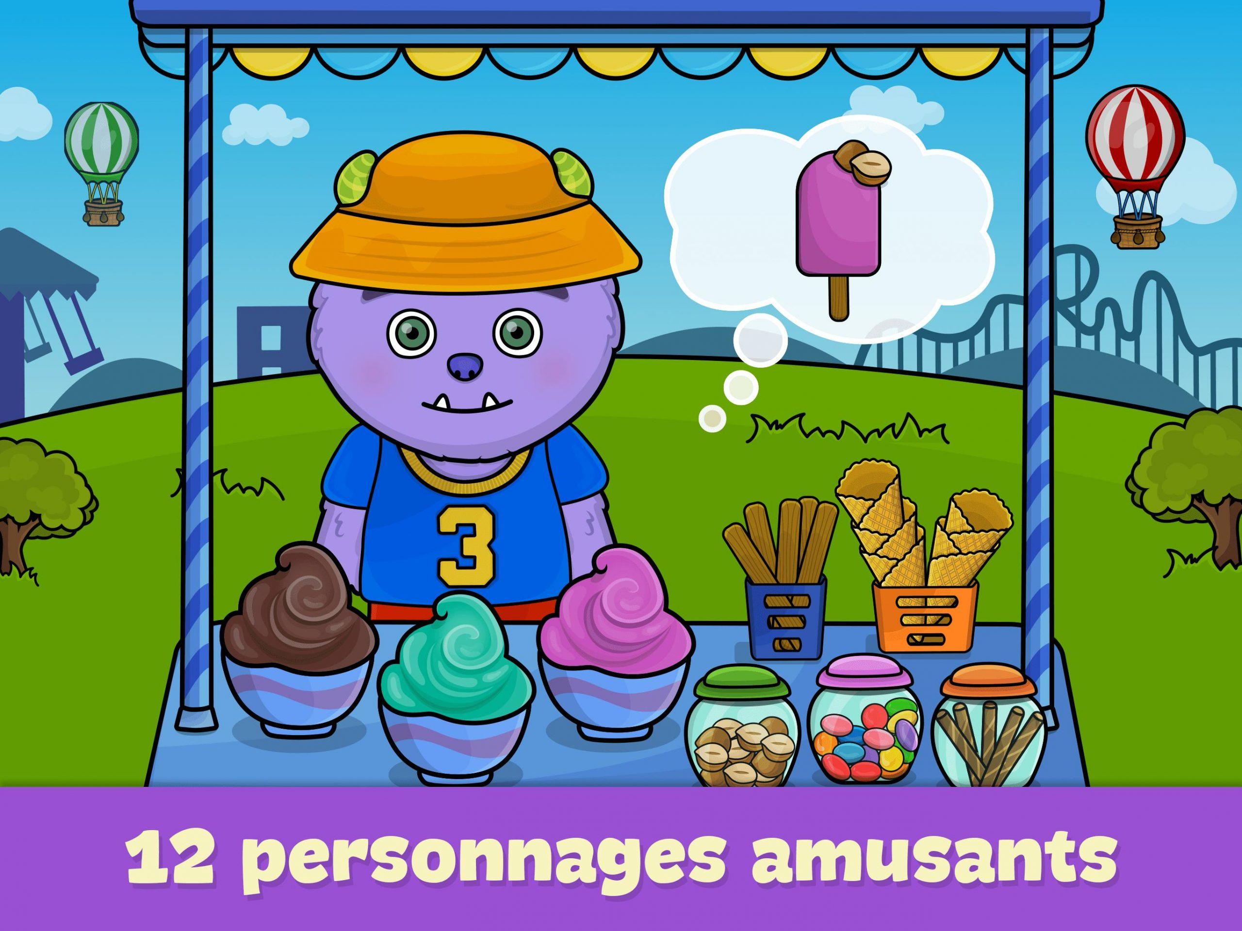 Jeux De Fille Et De Garçon 3, 4, 5 Ans Pour Android intérieur Jeux Pour Garçon Et Fille