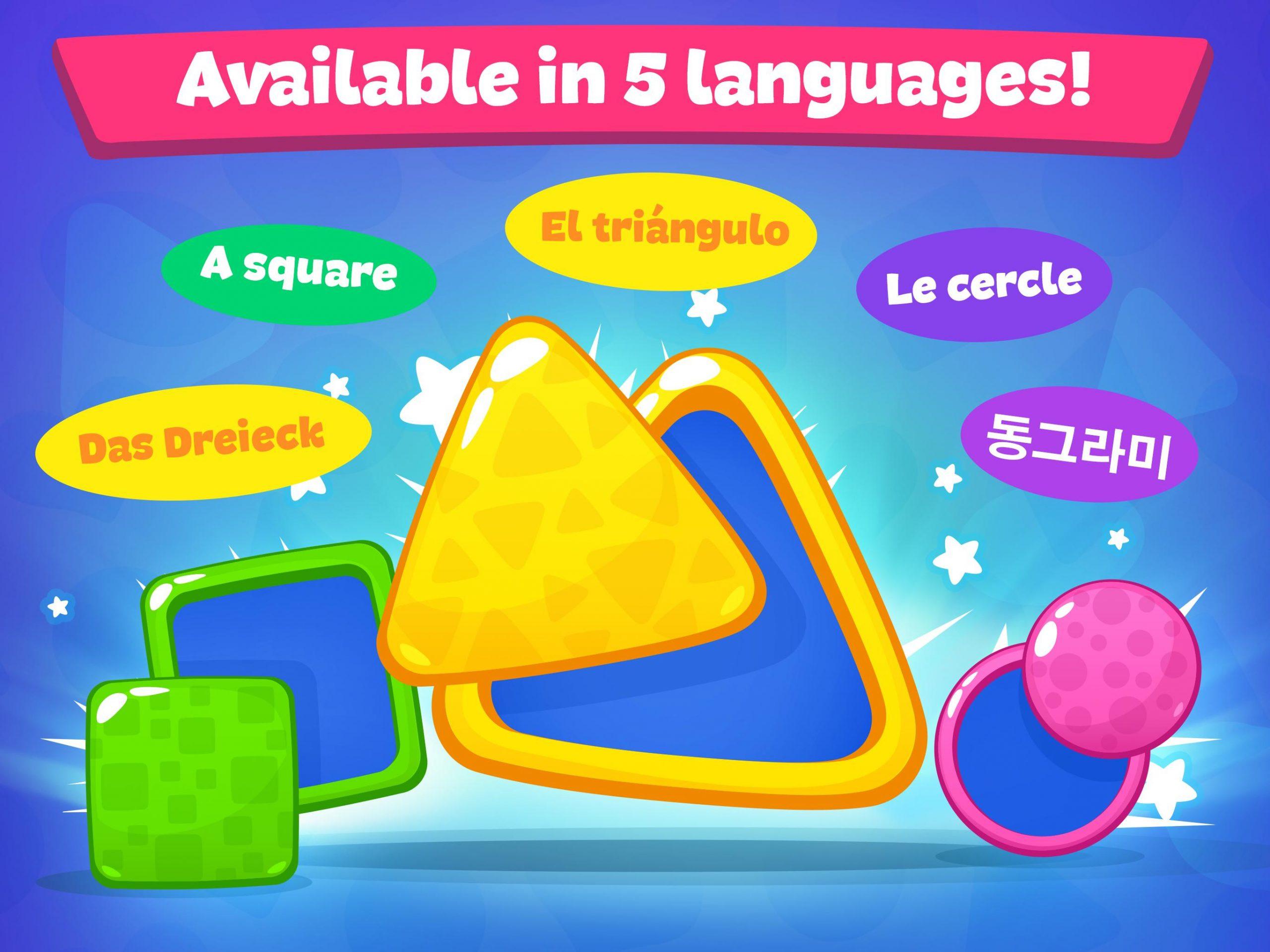 Jeux De Formes Et Couleurs Pour Enfants 2 5 Ans Pour Android à Jeux Forme Et Couleur