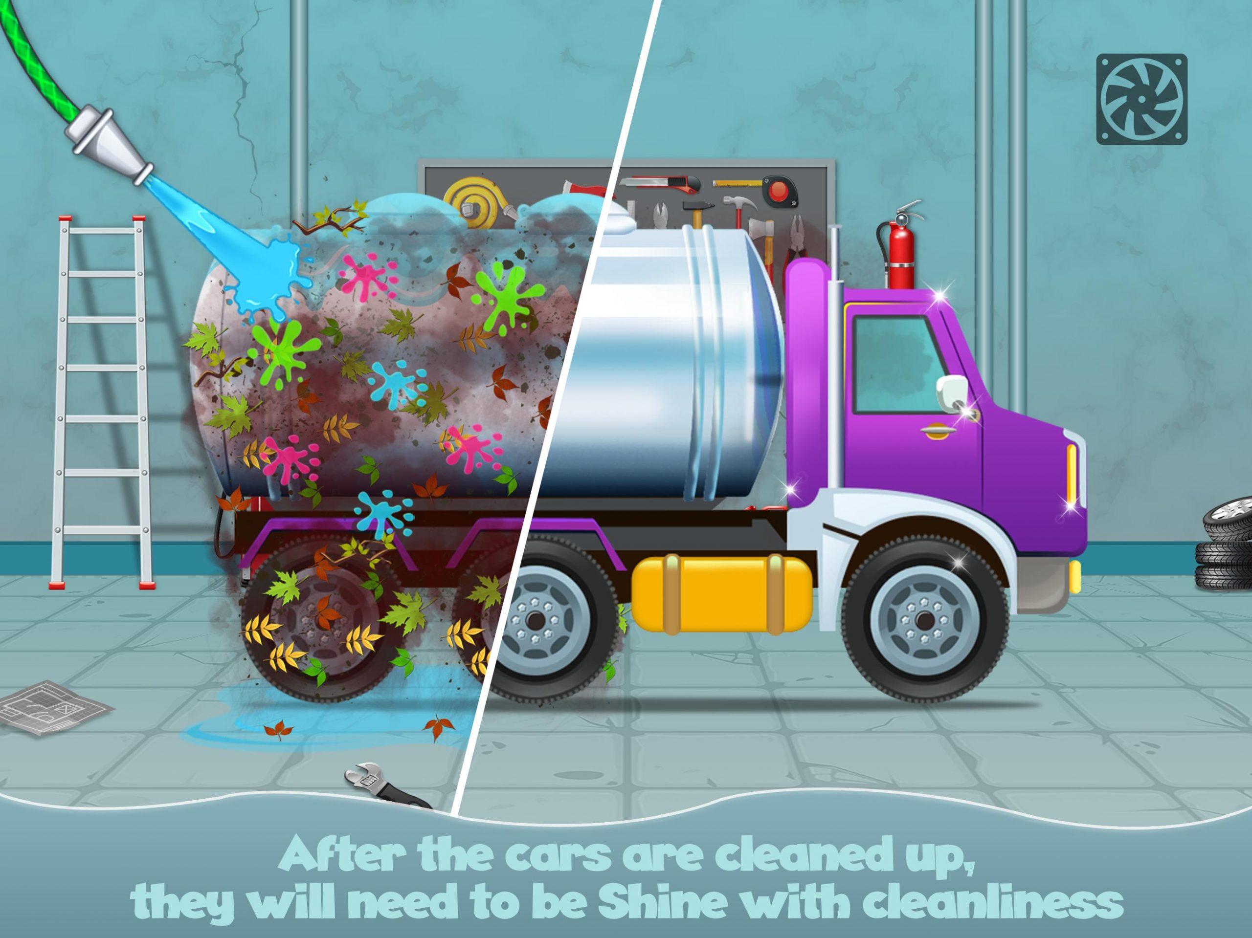 Jeux De Garage Pour Bébé Pour Voitures Pour Android destiné Jeux Bebe Voiture