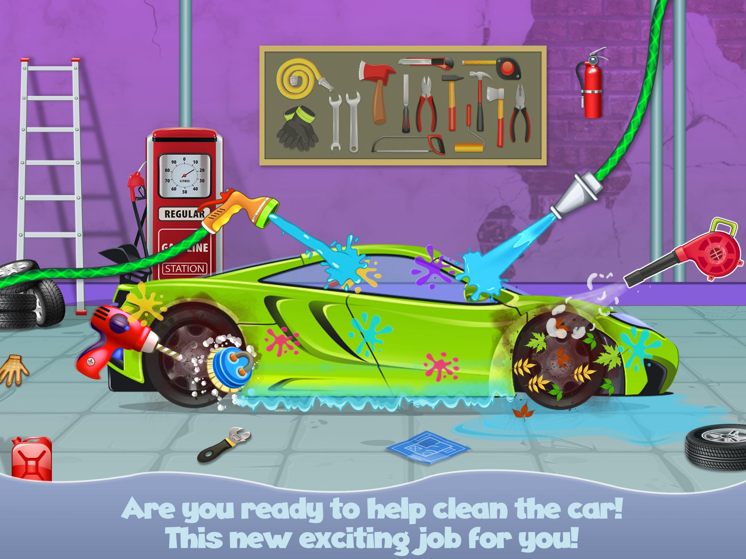 Jeux De Garage Pour Bébé Pour Voitures Pour Android encequiconcerne Jeux Bebe Voiture