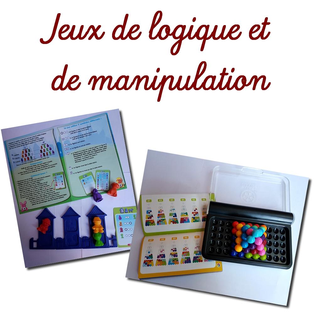 Jeux De Logique Et De Manipulation tout Jeux Mathématiques Cm2 À Imprimer