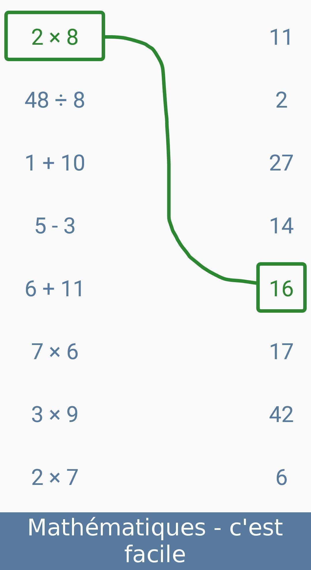 Jeux De Maths - Entraînement Cérébral Pour Android destiné Jeux De Maths Facile
