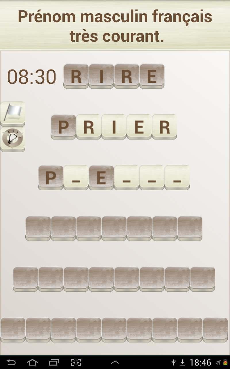 Jeux De Mots En Français For Android - Apk Download destiné Jeu De Lettres Gratuit A Telecharger