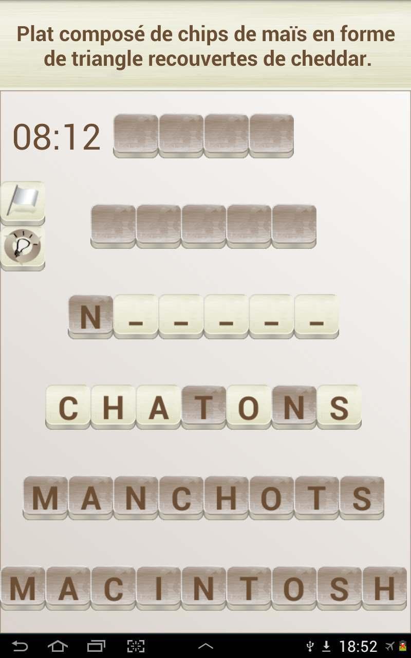 Jeux De Mots En Français For Android - Apk Download pour Definition Mot Fleches Gratuit