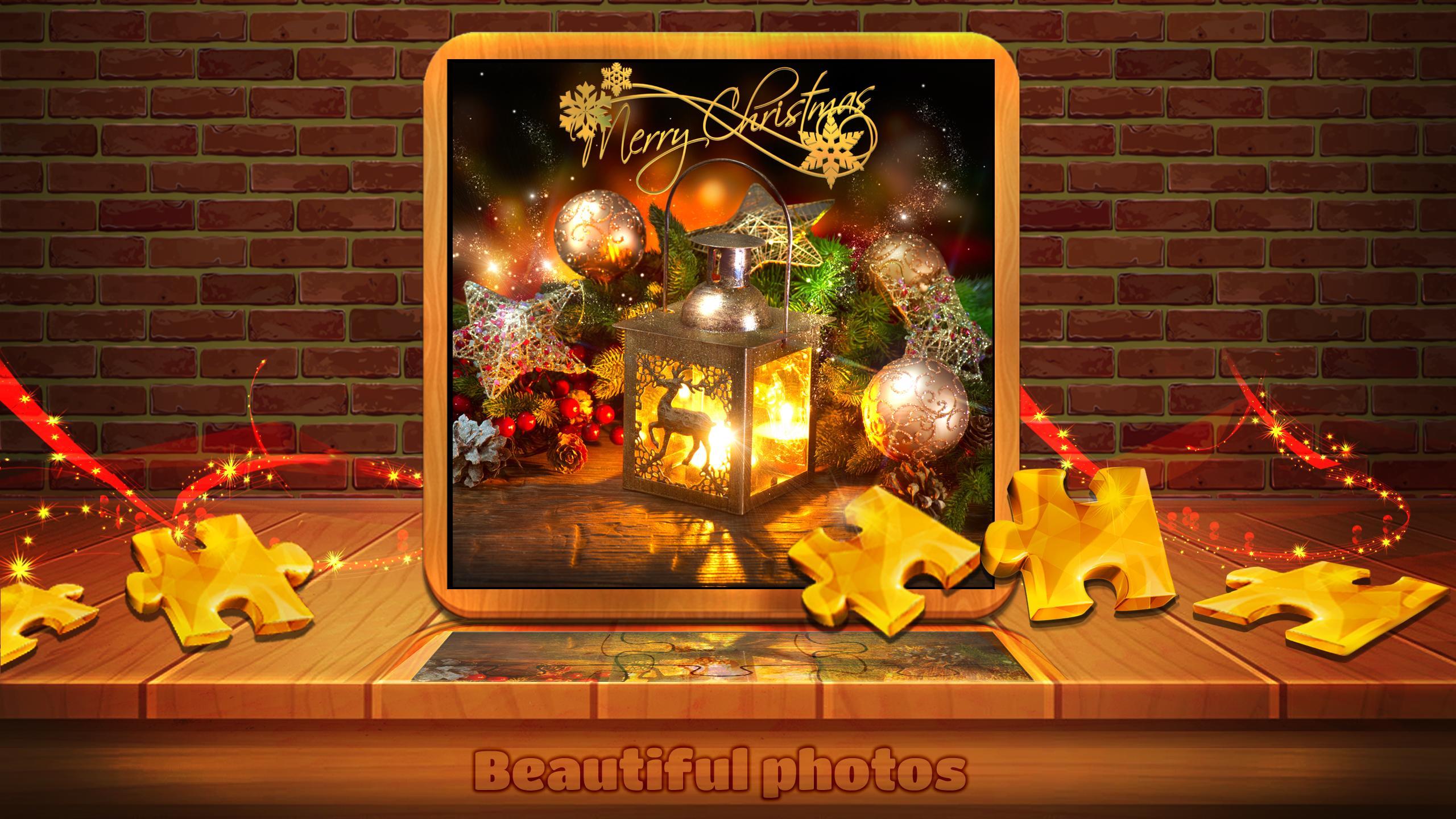 Jeux De Noël - Jigsaw Puzzles Gratuits Pour Android intérieur Puzzles Adultes Gratuits