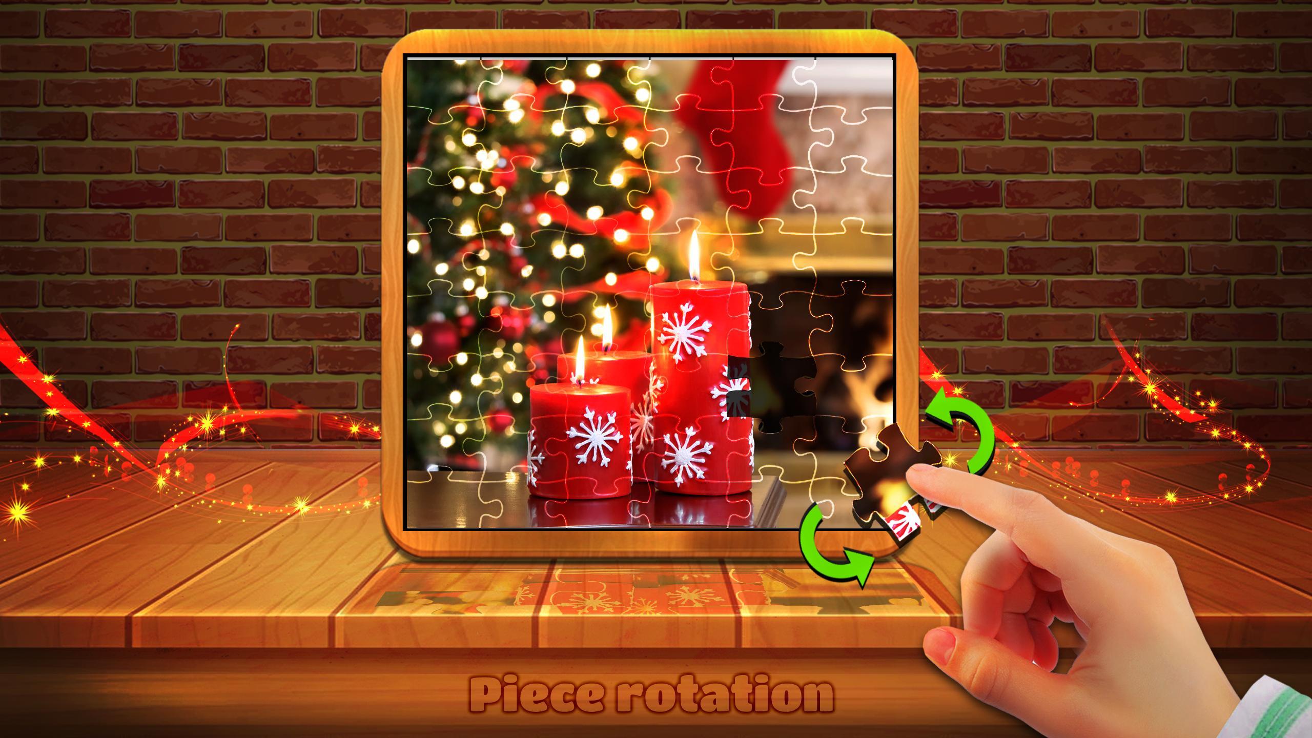 Jeux De Noël - Jigsaw Puzzles Gratuits Pour Android pour Puzzles Adultes Gratuits