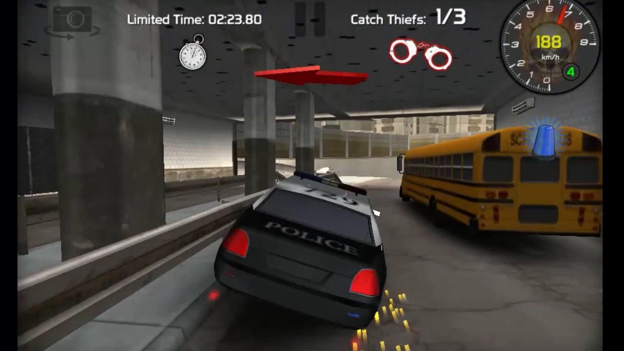 Jeux De Police Et Voleur En Voiture Trés Amusant !!! à Jeux De Voiture Avec La Police