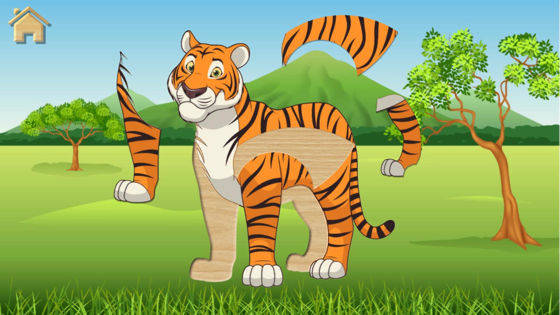 Jeux De Puzzle - Animaux Pour Enfants Pour Android avec Jeux De Puzzle Enfant