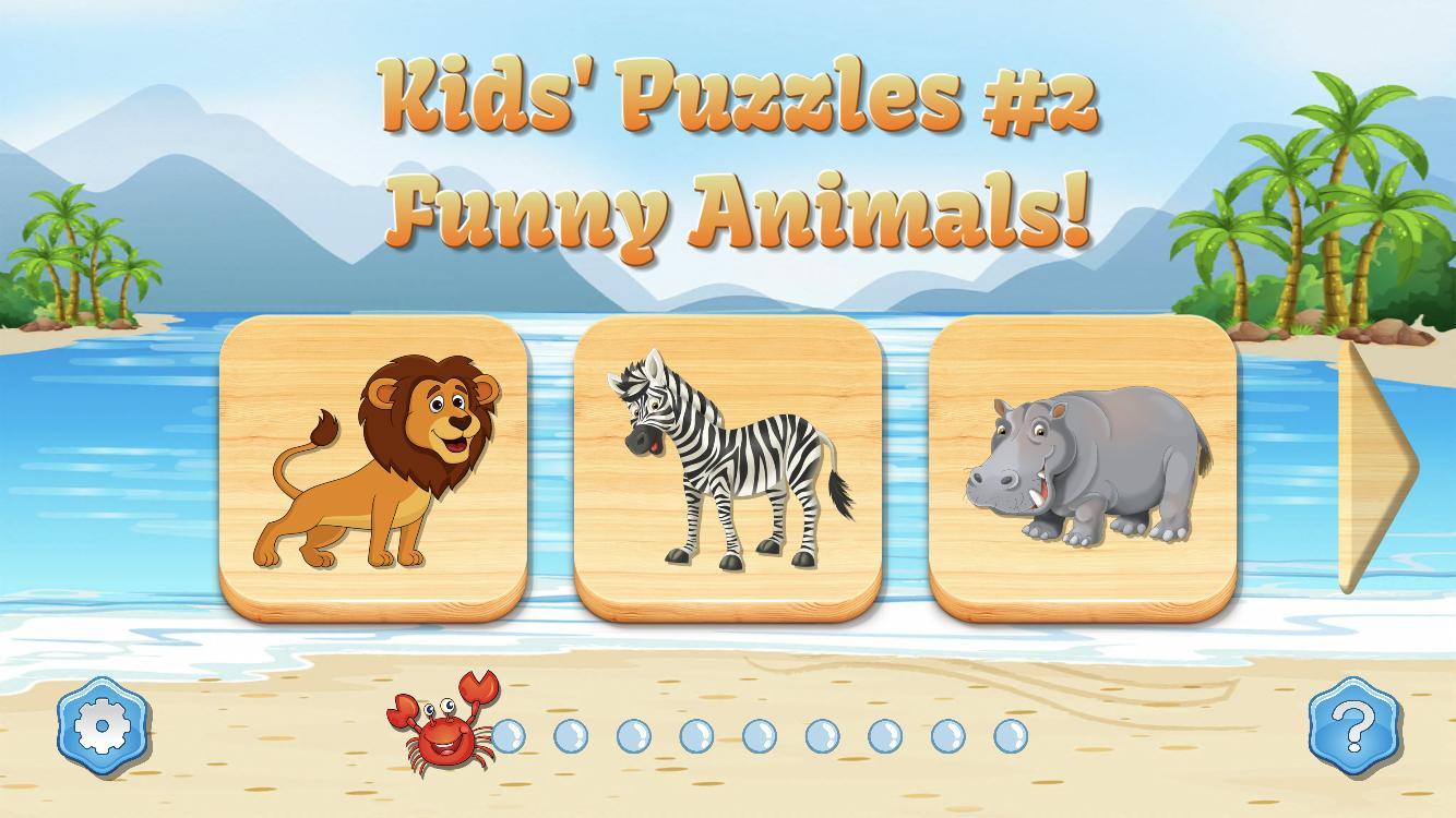 Jeux De Puzzle - Animaux Pour Enfants Pour Android intérieur Jeux De Puzzle Enfant