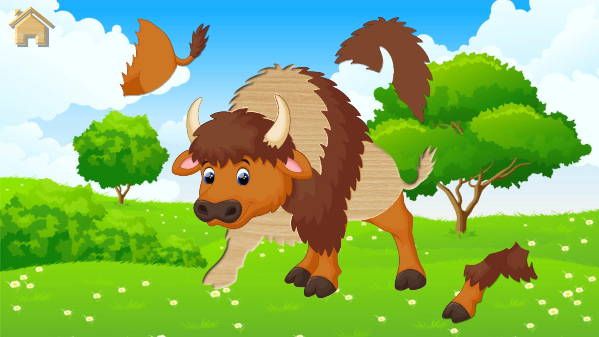 Jeux De Puzzle - Animaux Pour Enfants Pour Android serapportantà Jeux De Puzzle Enfant