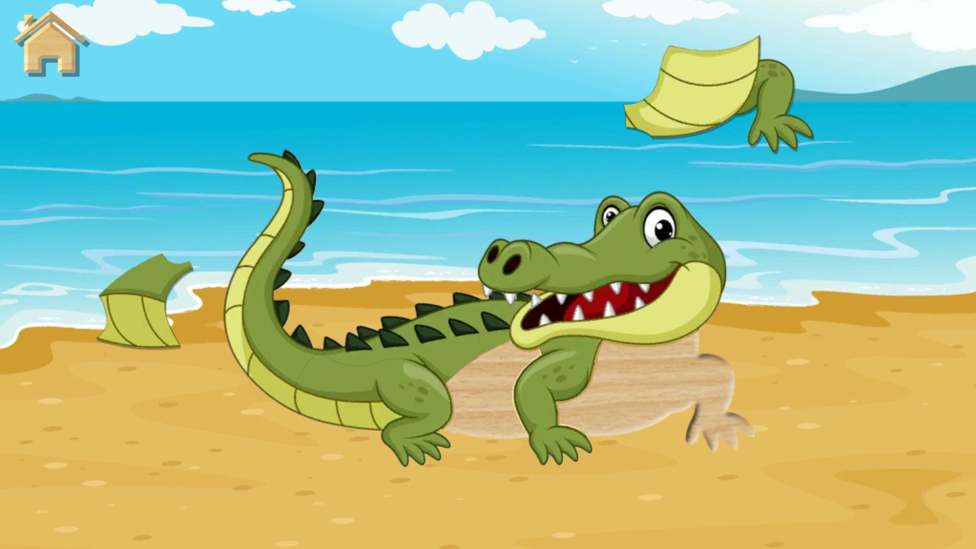Jeux De Puzzle - Animaux Pour Enfants Pour Android tout Jeux De Puzzle Enfant