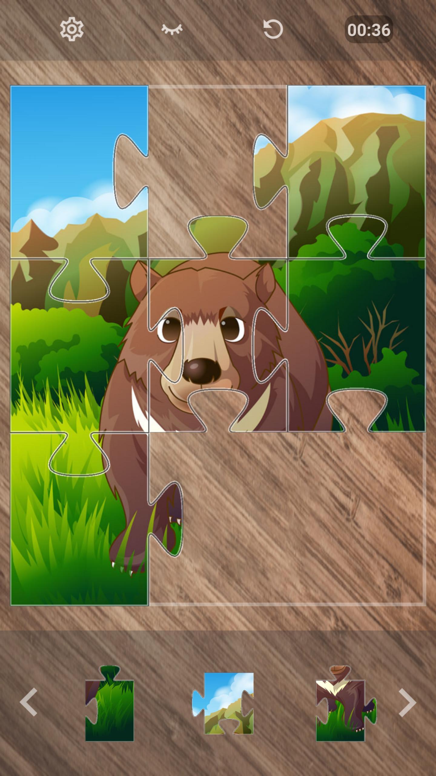 Jeux De Puzzle D'animaux Gratuit Pour Android - Téléchargez avec Jeux De Animaux Gratuit