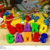 Jeux De Société Avec Les Lettres Magnétiques Photo Stock dedans Jeu De Société Avec Des Lettres
