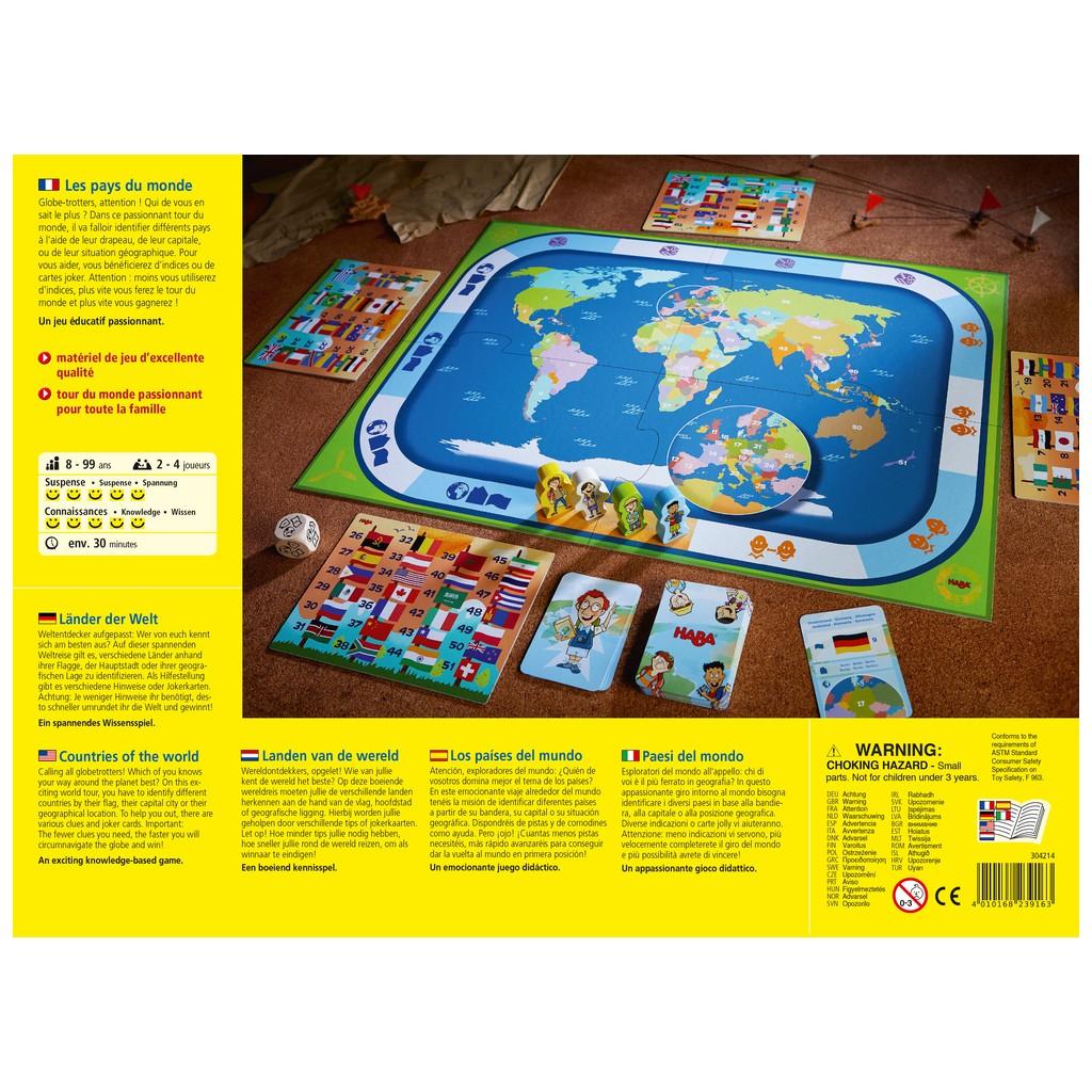 Jeux De Société - Les Pays Du Monde avec Jeux De Carte Geographique Du Monde