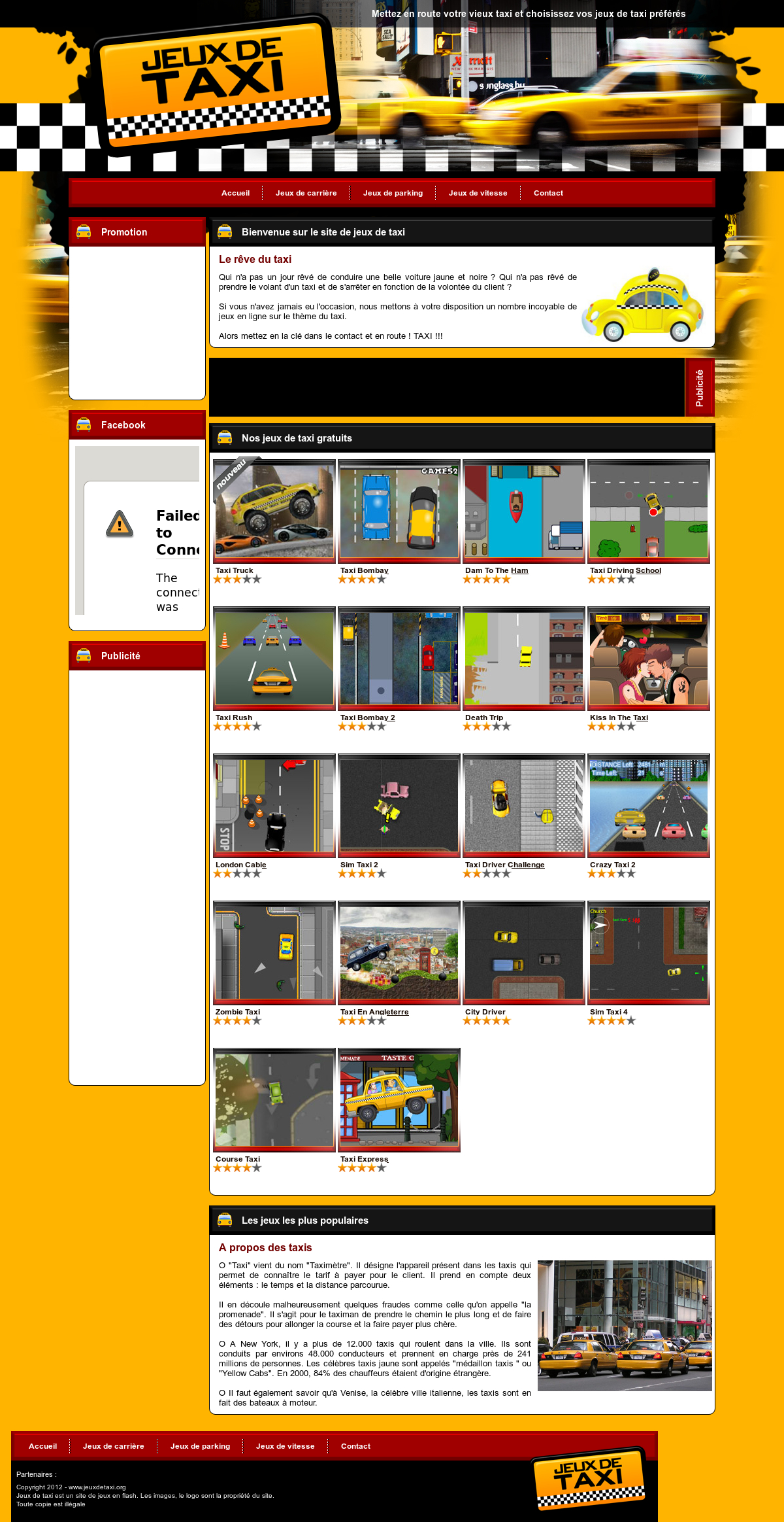 Jeux De Taxi Competitors, Revenue And Employees - Owler pour Jeux De Course Online