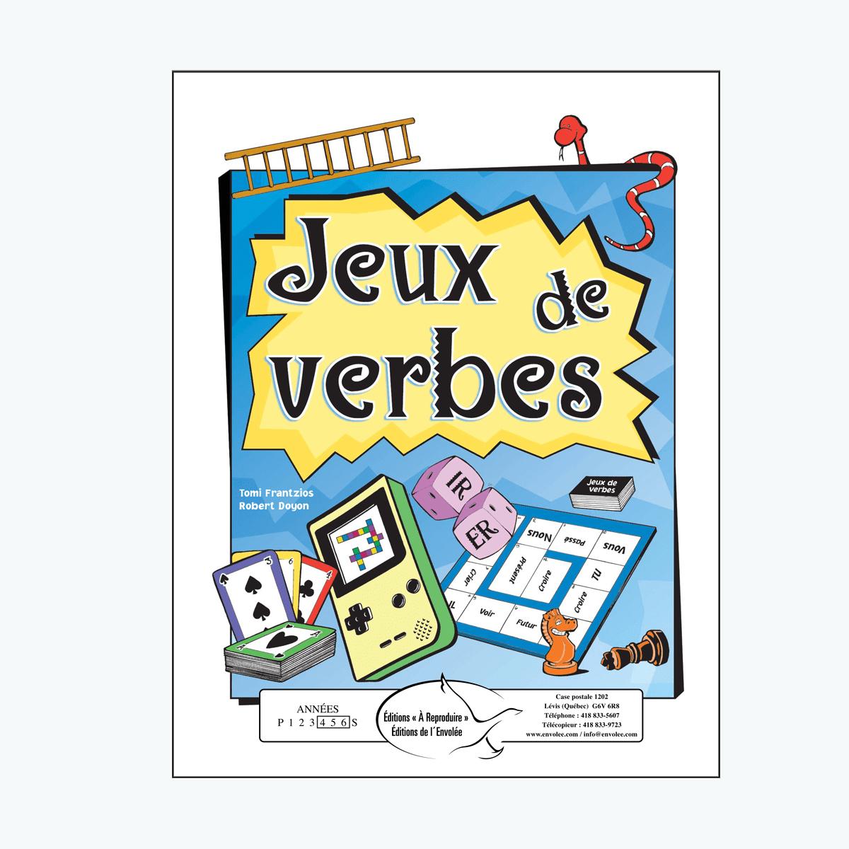 Jeux De Verbes - Éditions De L'envolée tout Verbe Jeux